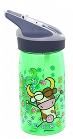 Фото 1 к товару Бутылка детская Laken Tritan Jannu 450 мл зеленая