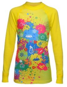 Термореглан детский Thermowave Active Girls LS Jersey желтый