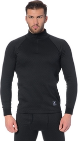 Термореглан мужской Thermowave 2 in 1 LS Jersey Zip M черный