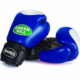 Перчатки боксерские Green Hill Hamed синие