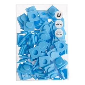 Пиксели Upixel Big голубые