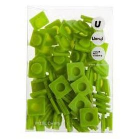 Пиксели Upixel Big зеленые