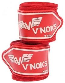 Бинты боксерские V`Noks 4,5m Red (2 шт)