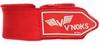 Бинты боксерские V`Noks 4,5m Red (2 шт) - Фото №2