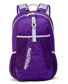 Рюкзак туристический Naturehike NH15A119-B 22 л фиолетовый