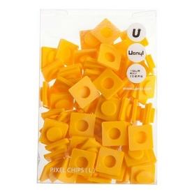 Пиксели Upixel Big желтые