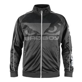 Кофта спортивная Bad Boy Track черно-серая