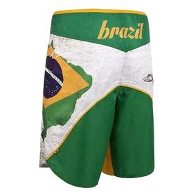 Фото 2 к товару Шорты MMA Leone Brazil White