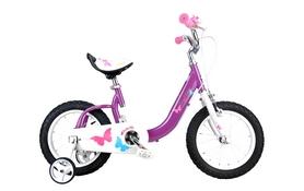 "Велосипед детский RoyalBaby Butterfly - 18"", фиолетовый (RB18-19-PRL)"