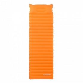 Коврик надувной с подушкой Naturehike NH16D003-D 85мм оранжевый