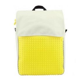 Рюкзак городской Upixel Fliplid бело-желтый