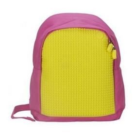 Рюкзак городской Upixel Junior розово-желтый