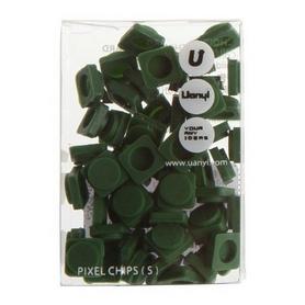 Пиксели Upixel Small темно-зеленые