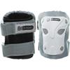 Защита для катания детская (комплект) Reaction Kid's 3-Pack Protective Set бело-серебристая - фото 2
