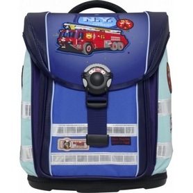 Фото 1 к товару Ранец для школьников ортопедический McNeill Ergo Light Compact Fire Engine