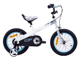 "Велосипед детский RoyalBaby Buttons - 16"", белый (RB16-15M-WHT)"