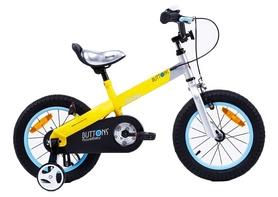 "Велосипед детский RoyalBaby Buttons Alu - 12"", желтый (RB12-15M-YEL)"