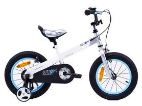 "Велосипед детский RoyalBaby Buttons Alu - 12"", белый (RB12-16-WHT)"
