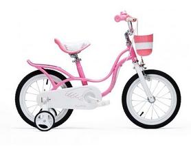 """Велосипед детский RoyalBaby Little Swan 2017 - 16"""", розовый (RB16-18-PNK)"""