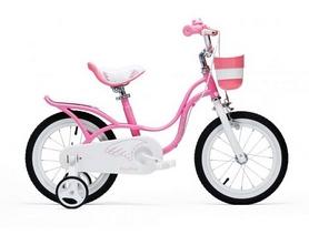 """Велосипед детский RoyalBaby Little Swan - 18"""", розовый (RB18-18-PNK)"""