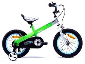 "Велосипед детский RoyalBaby Buttons - 14"", зеленый (RB14-15M-GRN)"