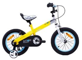 """Велосипед детский RoyalBaby Buttons - 14"""", желтый (RB14-15M-YEL)"""