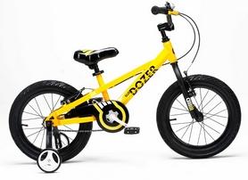 "Велосипед детский RoyalBaby Bull Dozer желтый - 16"""