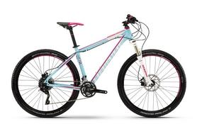 """Велосипед горный женский Haibike Life 7.70 2016 - 27.5"""", рама - 45 см, бирюзовый (4165630645)"""