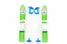 Лыжи детские Marmat 60 см зеленые