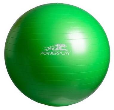 Мяч для фитнеса (фитбол) PowerPlay 4001 65см зеленый
