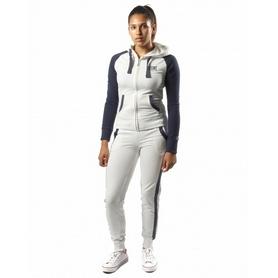 Спортивный костюм женский Leone бело-синий