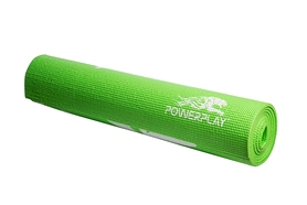 Фото 3 к товару Коврик для йоги (йога-мат) PowerPlay 4011 6 мм green