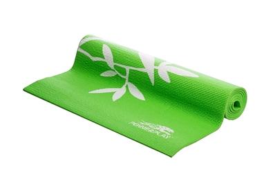 Коврик для йоги (йога-мат) PowerPlay 4011 6 мм green