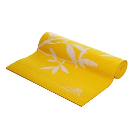 Коврик для йоги (йога-мат) PowerPlay 4011 8 мм yellow