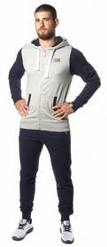 Костюм спортивный мужской Leone Fleece Grey/Blue
