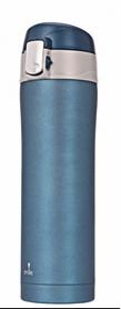 Термос туристический PowerPlay STT-5/6 420 мл голубой