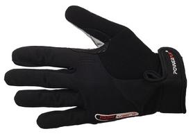 Перчатки велосипедные PowerPlay 6581 Black