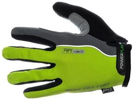 Перчатки велосипедные PowerPlay 6551 Green