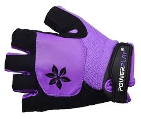 Перчатки велосипедные женские PowerPlay 5284 Lilac фиолетовые