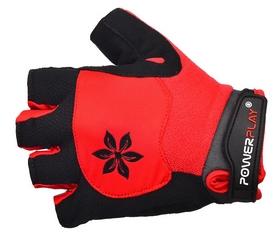 Перчатки велосипедные женские PowerPlay 5284 красные