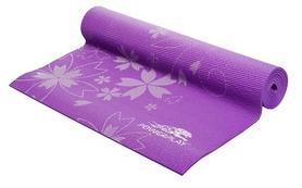 Коврик для йоги (йога-мат) PowerPlay 4011 6 мм purple