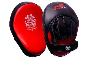 Лапы боксерские PowerPlay 3035 red (1 шт)