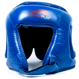 Шлем боксерский PowerPlay 3045 blue