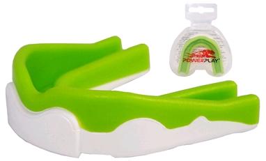 Капа боксерская детская PowerPlay 3302 green