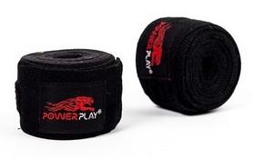 Бинты боксерские PowerPlay 3047 black (2 шт)