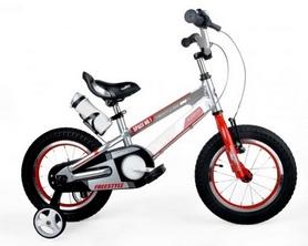 """Велосипед детский RoyalBaby Freestyle Space Alloy Alu - 16"""", серебристый (RB16-17-SIL)"""