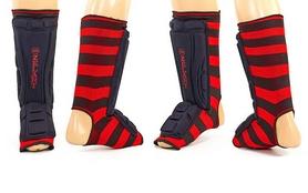 Защита для ног (голень+стопа) ZLT ZB-4218-BK черная