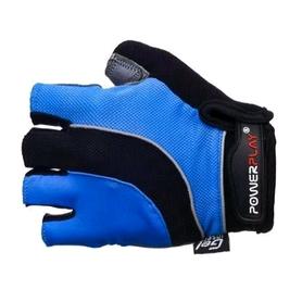 Перчатки велосипедные PowerPlay 5041 B синие