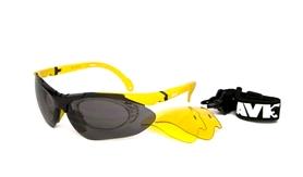 Очки спортивные AVK Esplosivo 2 желтые