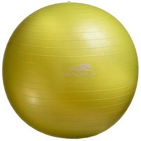 Мяч для фитнеса (фитбол) PowerPlay 4001 75см желтый